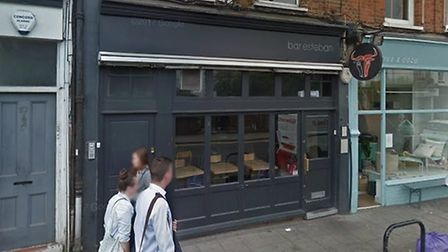 Dean Dinan is charged with the attempted theft of a laptop from Bar Esteban in Crouch End. Picture:
