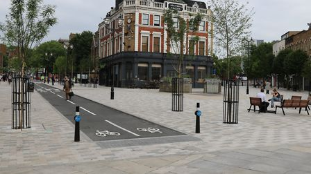 The transformation is now complete in Archway. Picture: TfL