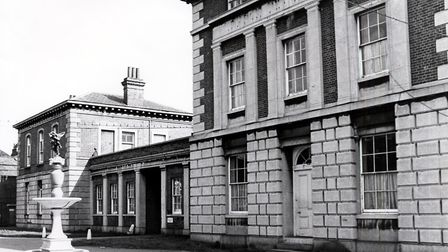 The Royal Free Hospital in 1976, a year after it was shut. Picture: Islington Local History Centre