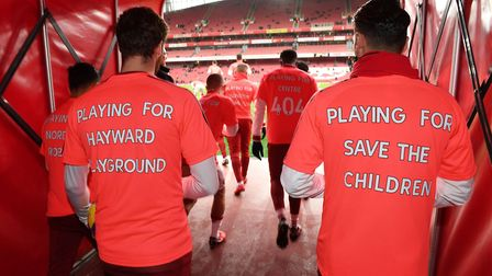 The Arsenal Foundation day raised a huge amount for good causes. Credit Arsenal/David Price