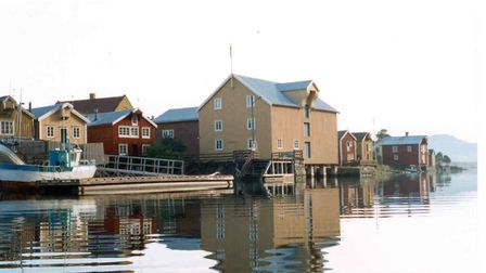 Mosj�en was established as a town by English saw mill barons