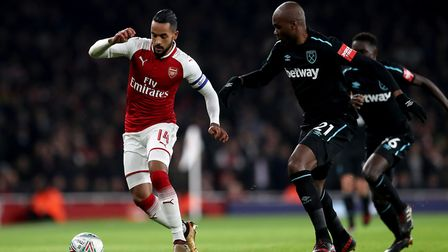 Theo Walcott has signed for Everton in a �20m deal. PA