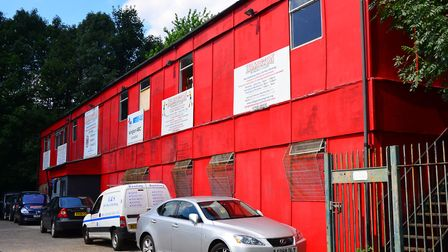 Islington Boxing Club's iconic red building was originally portacabins for developer Bovis when the