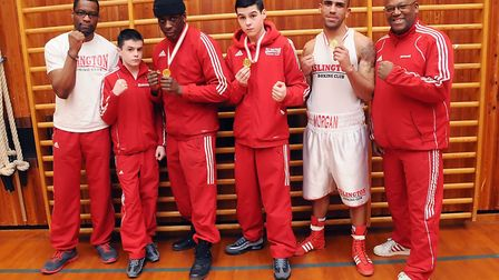 Islington Boxing Club members pictured in 2013. The club has secured its long-term future in Hazellv