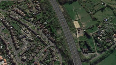 The A2 in Kent, where the crash happened. Picture: Google Maps