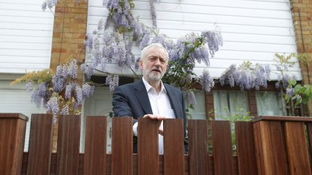 Jeremy Corbyn, pictured leaving his Finsbury Park home last year, has lived in the area since 1970 a