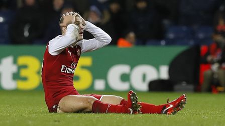 Wenger is confident Jack Wilshere will sing a new deal at the club. Picture Martin Rickett/PA