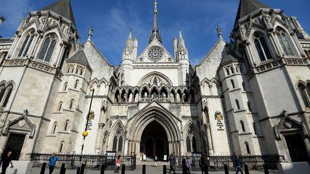 The Royal Courts of Justice in London Picture: PAimages