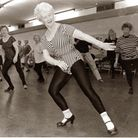 Mary Bryant who taught dancing lesson and keep fit classes for more than half a century in Brent. Pi