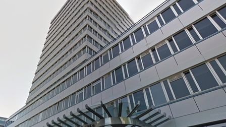 Islington Council has approved a 12-storey extension to Finsbury Tower in Bunhill Row. Picture: Goog