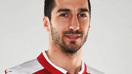 Arsenal have signed Henkrik Mkitaryan from Manchester United in a swap with Alex Sanchez. Credit Ars