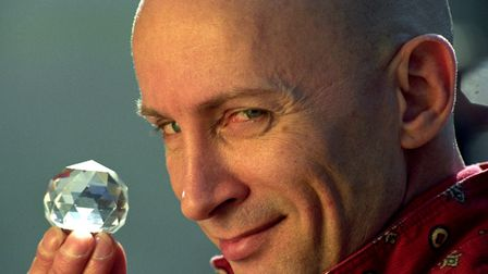 Iconic Crystal Maze host Richard O'Brien, pictured in 1991. Picture: Adam Butler