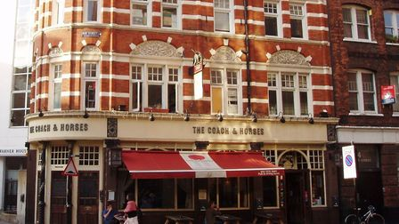 The Coach and Horses in Ray Street, Clerkenwell, pictured in 2008. Picture: Ewan Munro/Flickr/CC BY-