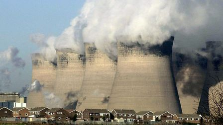 Coal fired fuel station. Picture: PA IMAGES