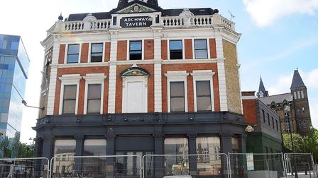 Archway Tavern and the old public toilets outside have been brought back into the public spotlight.