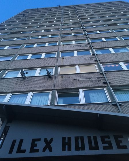 Ilex House in the Holly Park Estate, Crouch Hill. Picture: James Morris