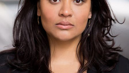 Medhavi Patel is playing Jayaben Desia in We Are The Lions, Mr Manager! (Picture: Carl Davis)