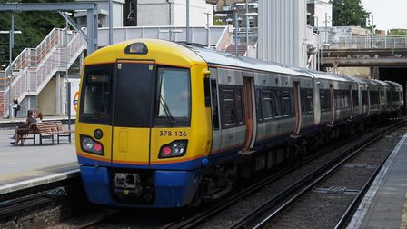 An Overground train at Canonbury station. Picture: Matt Buck/Flickr/Creative Commons licence CC BY-S