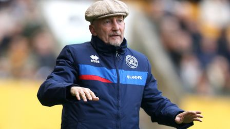 Queens Park Rangers manager Ian Holloway (pic: Barrington Coombs/PA)