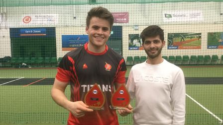 North Middlesex's Joe Cracknell was named MVP at the national under-17 indoor finals in Birmingham