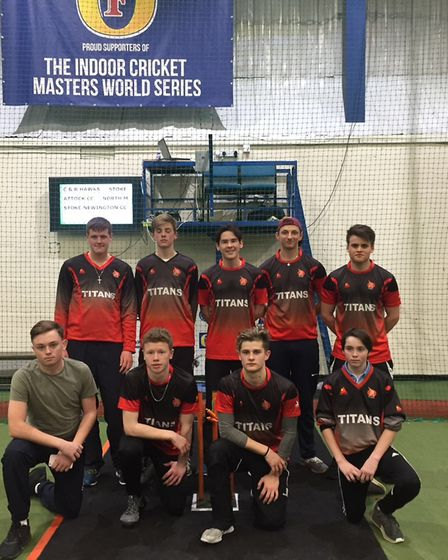 North Middlesex celebrate their indoor success