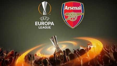 Find out who Arsenal will face in the Europa League. Credit Arsenal FC/UEFA