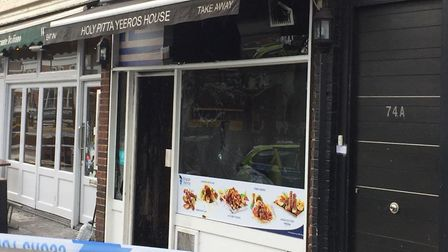 Holy Pitta was badly damaged in a fire last night. Picture: @n12x0