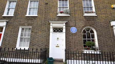 32 Charlton Place, the former home of Caroline Chisholm. Picture: Polly Hancock
