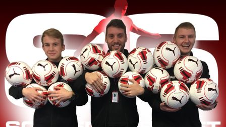 Free kits and footballs are to be given to all new teams that enter the Soccersixes Islington League