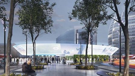 Silicon Circus. Picture: Horden Cherry Lee (HCL) Architects.