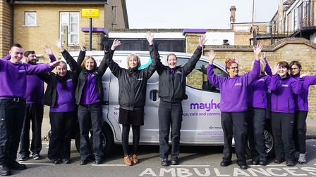 Thanks to generous supporters raising over �17k, Mayhew have been able to receive a new, replacement