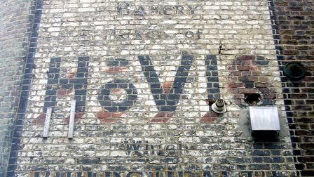 The Hovis sign in Camden Passage. Picture: Sam Roberts/Ghostsigns