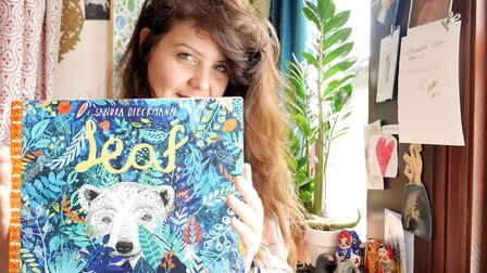 Sandra Dieckman, whose book Leaf (Flying Eye) is shortlisted for the Waterstones Children�s Book Pri