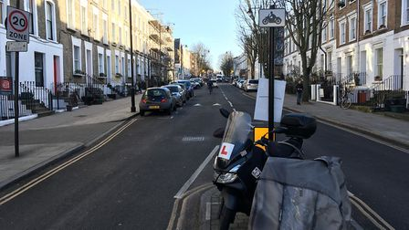 One Offord Road homeowner has called for action against Deliveroo's presence in Roman Way Industrial