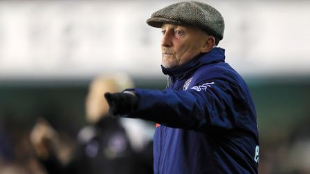 Queens Park Rangers manager Ian Holloway gestures on the touchline (pic Mike Egerton/PA)