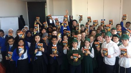 Wembley schools with copies of The Children of Willesden Lane as part of a Holocaust Educational Tru