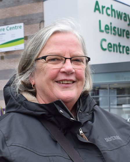 Islington Civic Awards 2018: Kathy Green outside Archway Leisure Centre. Picture: Polly Hancock
