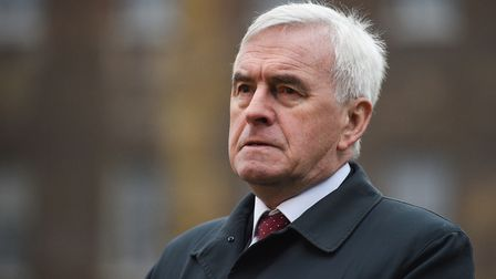Labour Party MP and Shadow Chancellor of the Exchequer John McDonnell. OLI SCARFF/AFP/Getty Images)