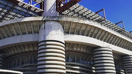 The San Siro. Credit @laythy29 Twitter and Instagram