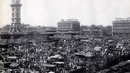 Caledonian Market, circa 1930s. Picture: Islington Local History Centre