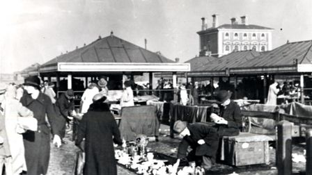 Caledonian Market in 1935. Picture: Islington Local History Centre