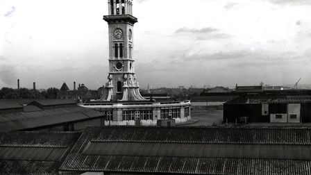 A derelict Caledonian Market site in 1962. Picture: Islington Local History Centre