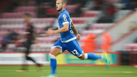 Jack Wilshere of Bournmouth during the friendly match against AC Milan in September 2016 at the Vita