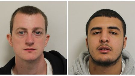 Thomas McDermott and Hisham Tawfik both from Queen's Park (Picture: Met Police)