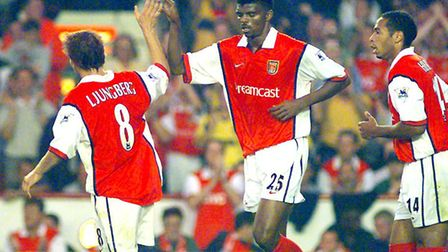An Arsenal legends team hase been confirmed to play Real Madrid legends in June. Kanu scored a trebl