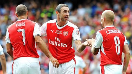 Arsenal Legends are set to play Real Madrid twice this year. Credit Arsenal FC