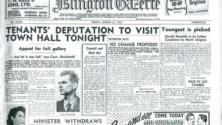 Islington Gazette: March 21, 1958