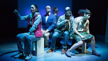 Great Apes at the Arcola theatre. Picture: Nick Rutter