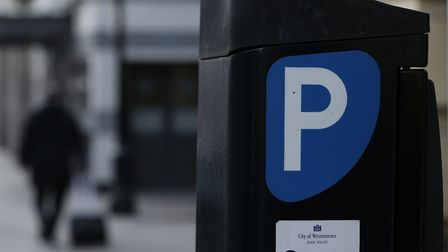 A file image of a parking meter. Picture: Jonathan Brady/PA
