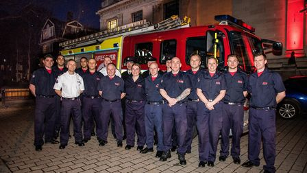 Firefighters from Islington and Holloway stations were awarded the freedom of the borough last Thurs